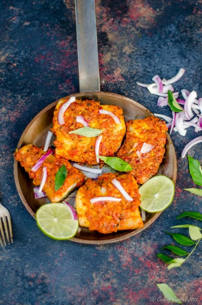 Kerala Style Spicy Baked Fish - Baked Fish Fry (5 of 5)