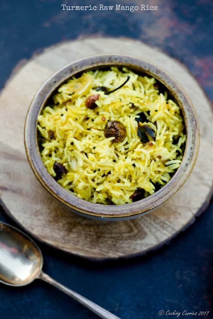 Turmeric Raw Mango Rice