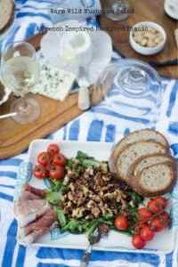 Warm Wild Mushroom Salad and a French Inspired Backyard Picnic
