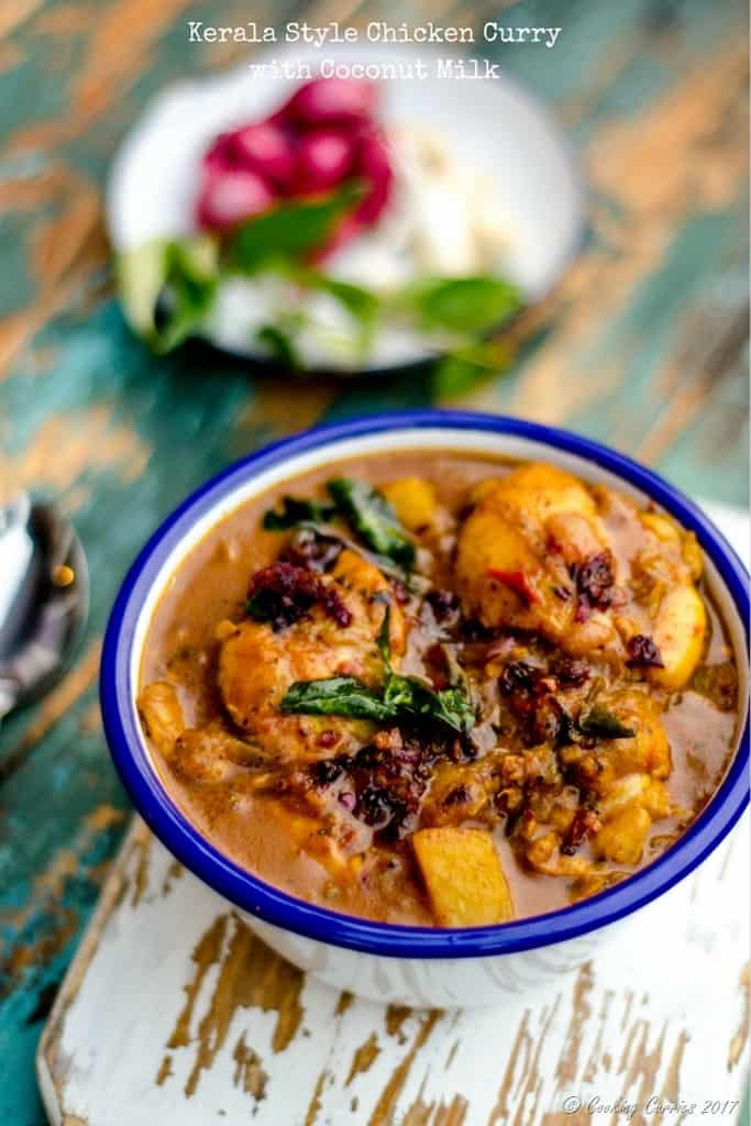Kerala Style Chicken Currywith Coconut Milk