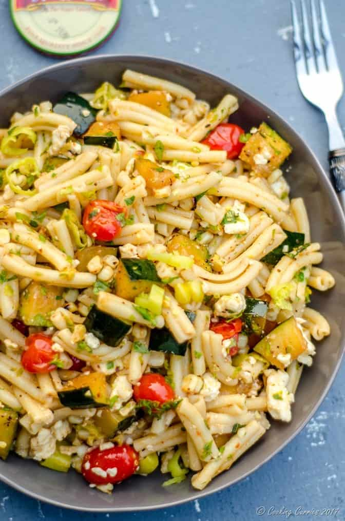 Mediterranean Pasta Salad with Grilled Summer Vegetables (6 of 7)