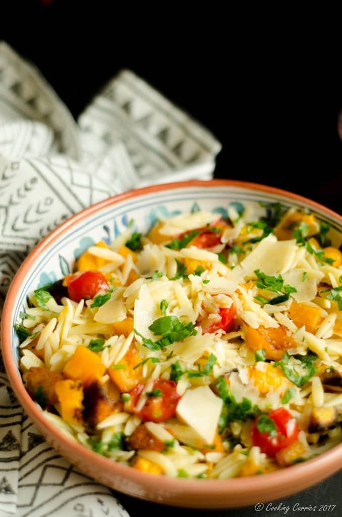 Butternut Squash and Cherry Tomatoes Orzo (4 of 5)