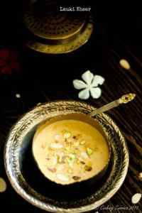 Lauki Kheer – Bottle Gourd Milk Pudding