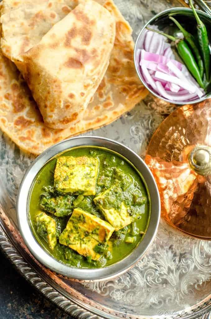 Palak Methi Paneer - Spinach and Fenugreek Paneer Curry (5 of 5)