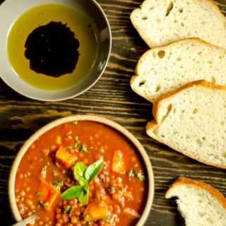 Crock Pot Lenti land Yam Soup