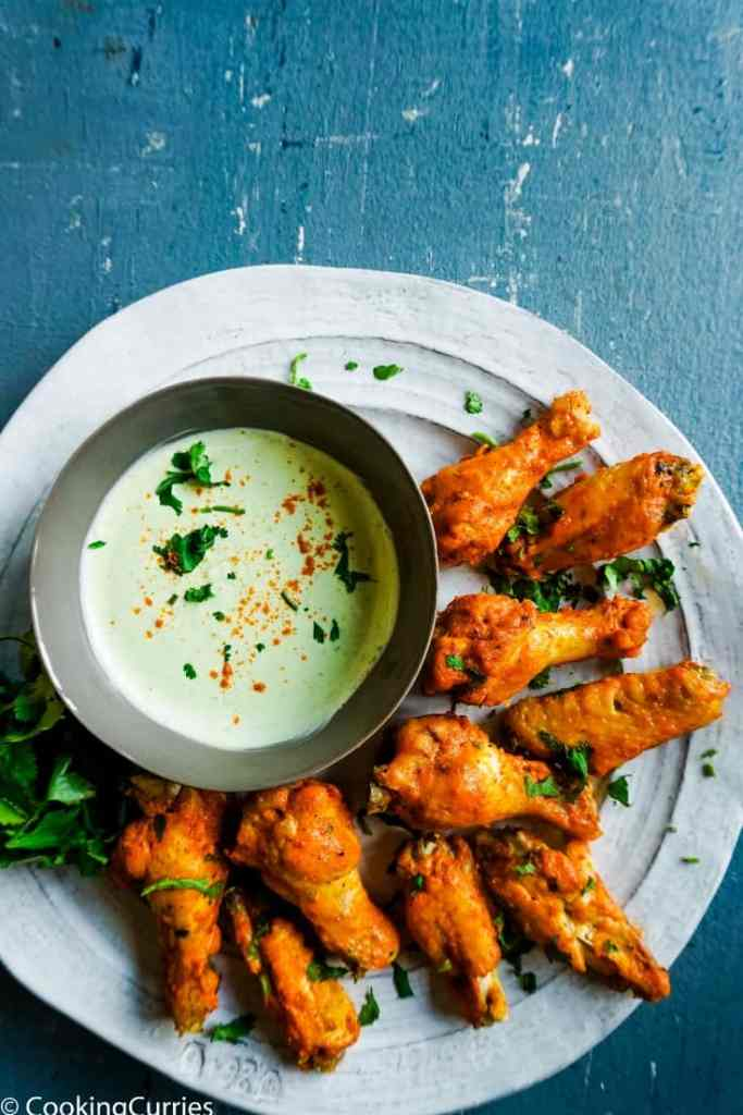Instant Pot Tandoori Chicken Wings