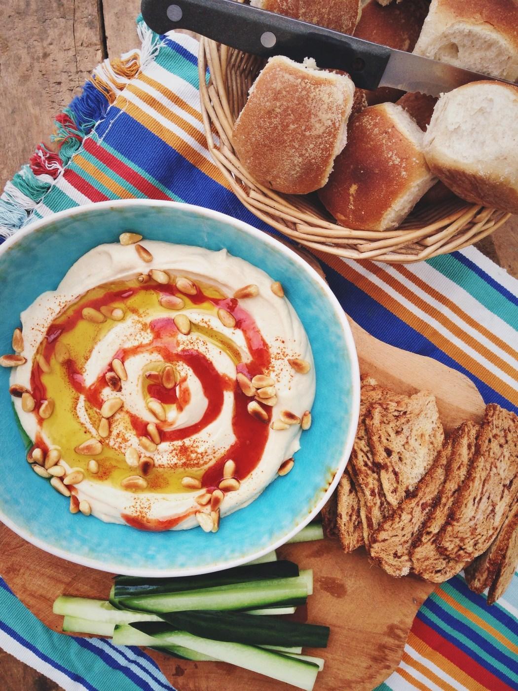 Hummus zelf maken