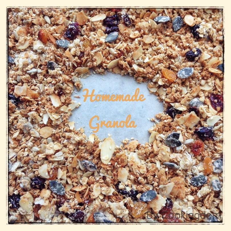 Homemade granola, by Cookingdom