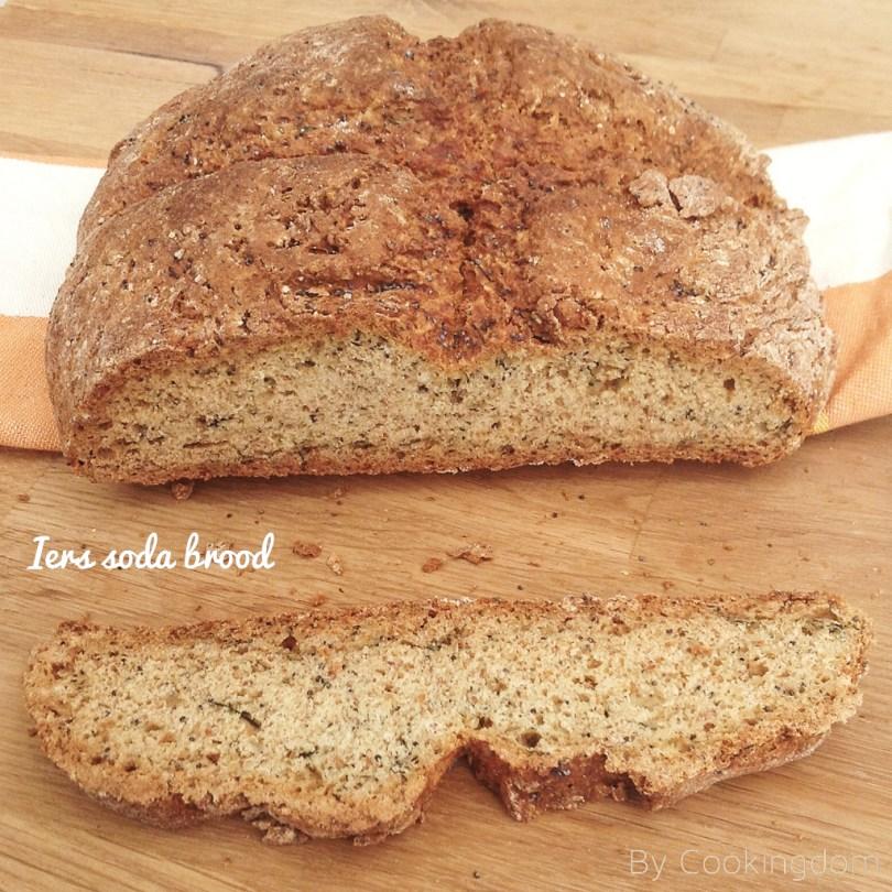 Iers soda brood met dille en maanzaad, By Cookingdom