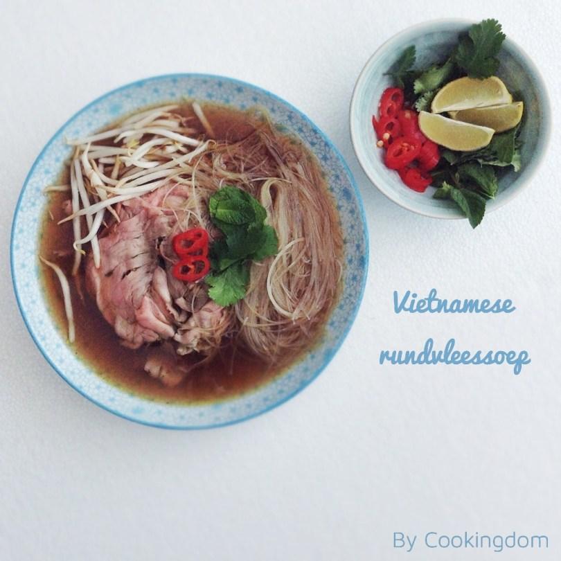 Vietnamese rundvleessoep By Cookingdom