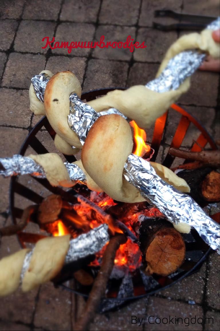 Kampvuur broodjes By Cookingdom