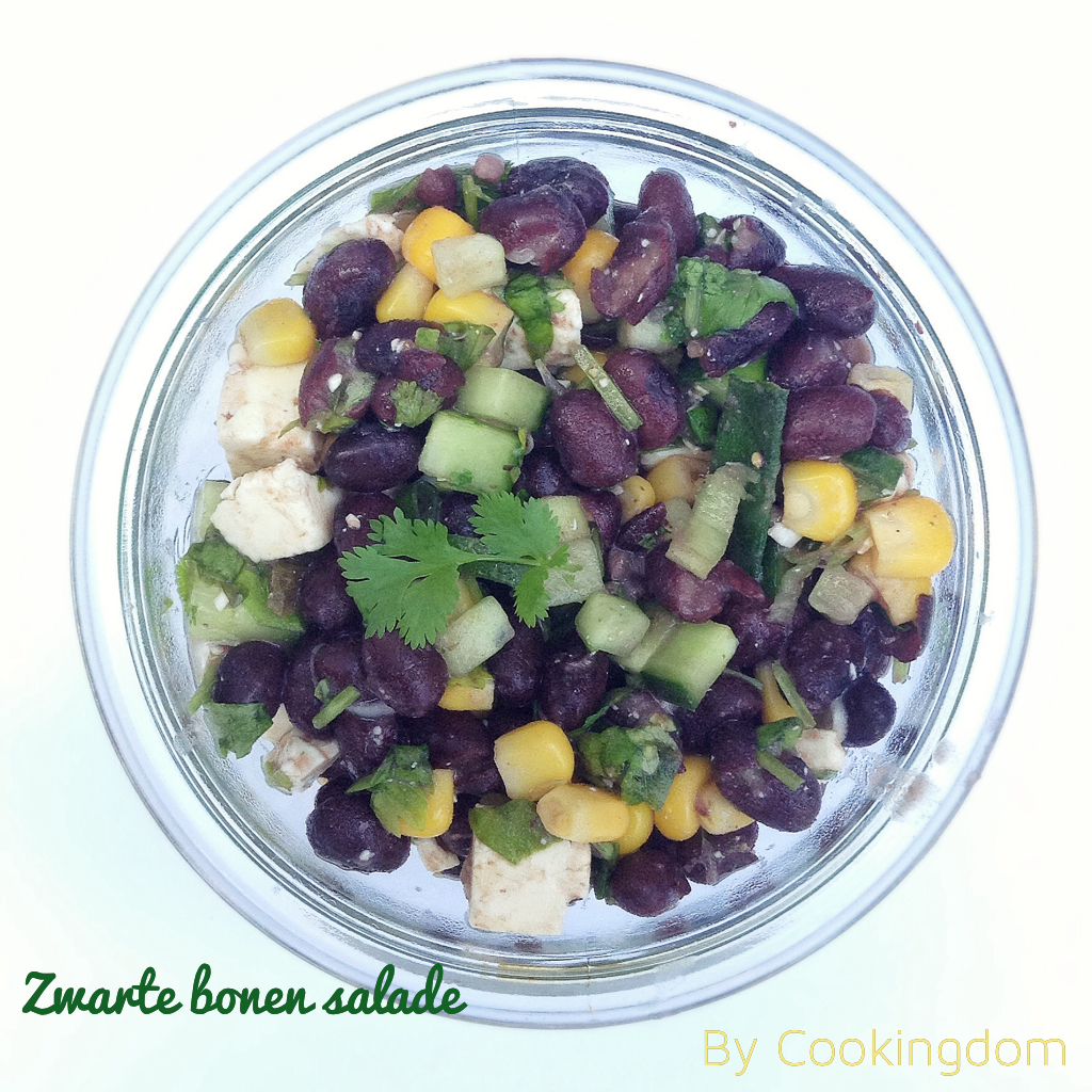 zwarte bonen salade By Cookingdom