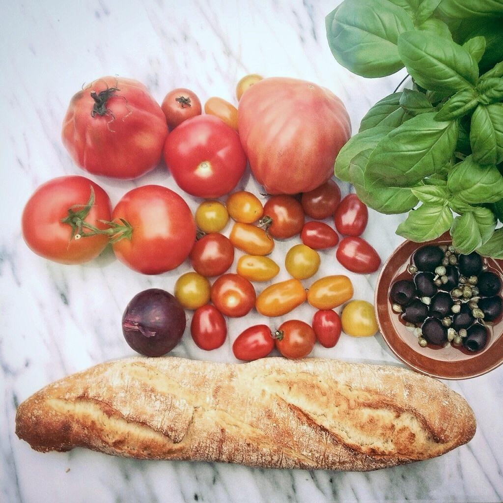 Ingredienten panzanella By Cookingdom