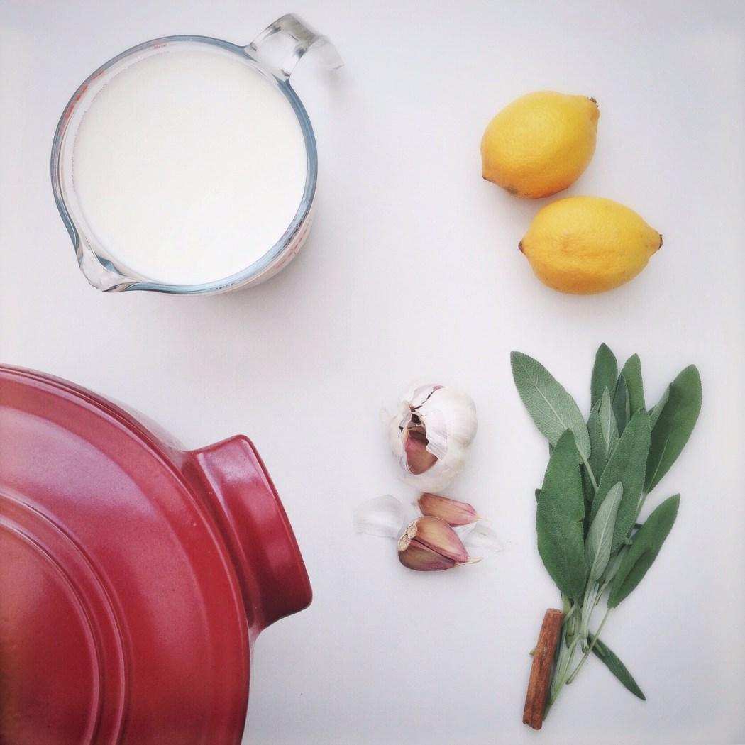 Kip in melk, by cookingdom