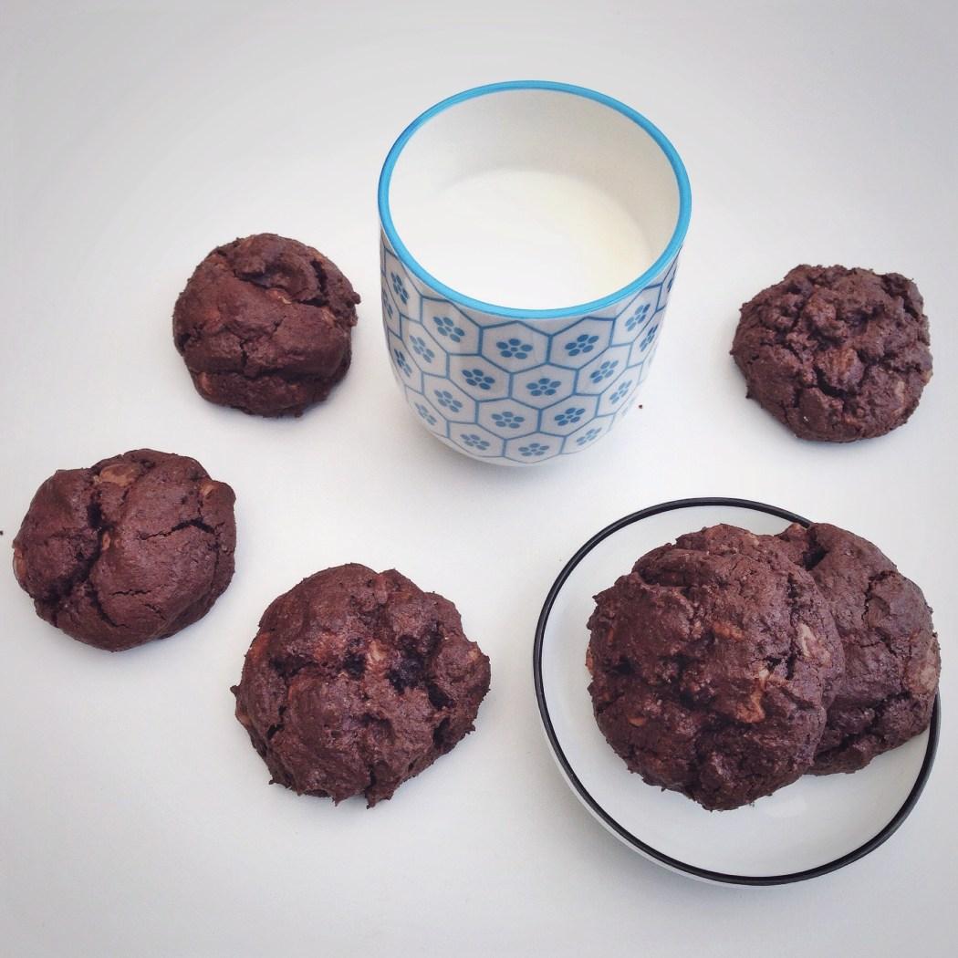 Chocolade boekweit koekjes, by Cookingdom