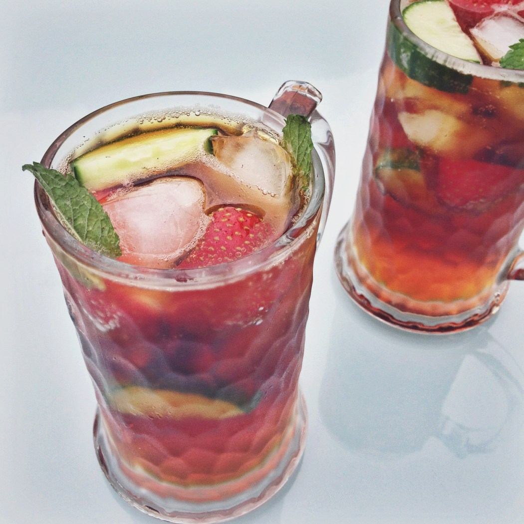Pimm's cocktail met fruit, By Cookingdom