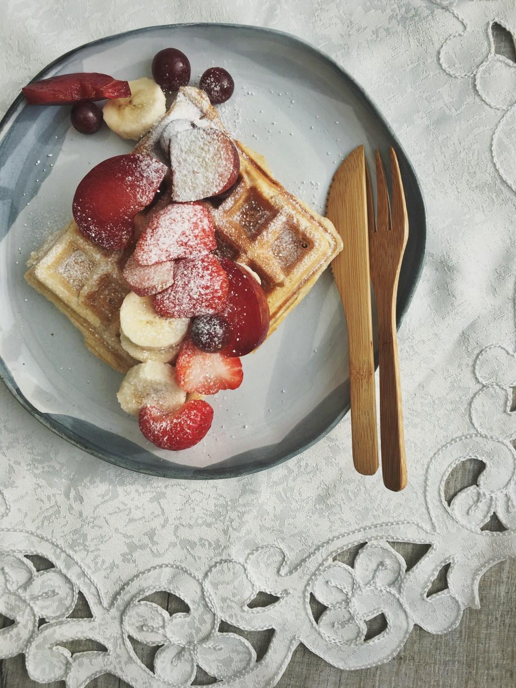 Super simpele wafels