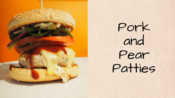 Pork and Pear Patties