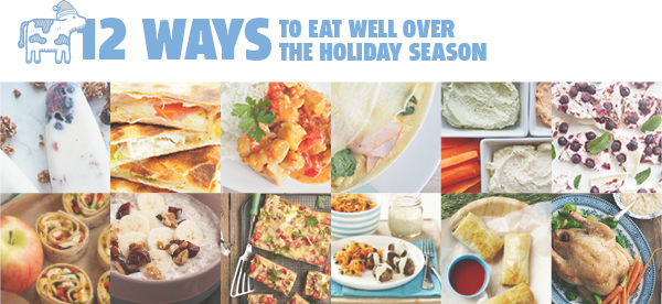 Twelve Ways to Eat Well Over the Holiday Season - FREE ebook