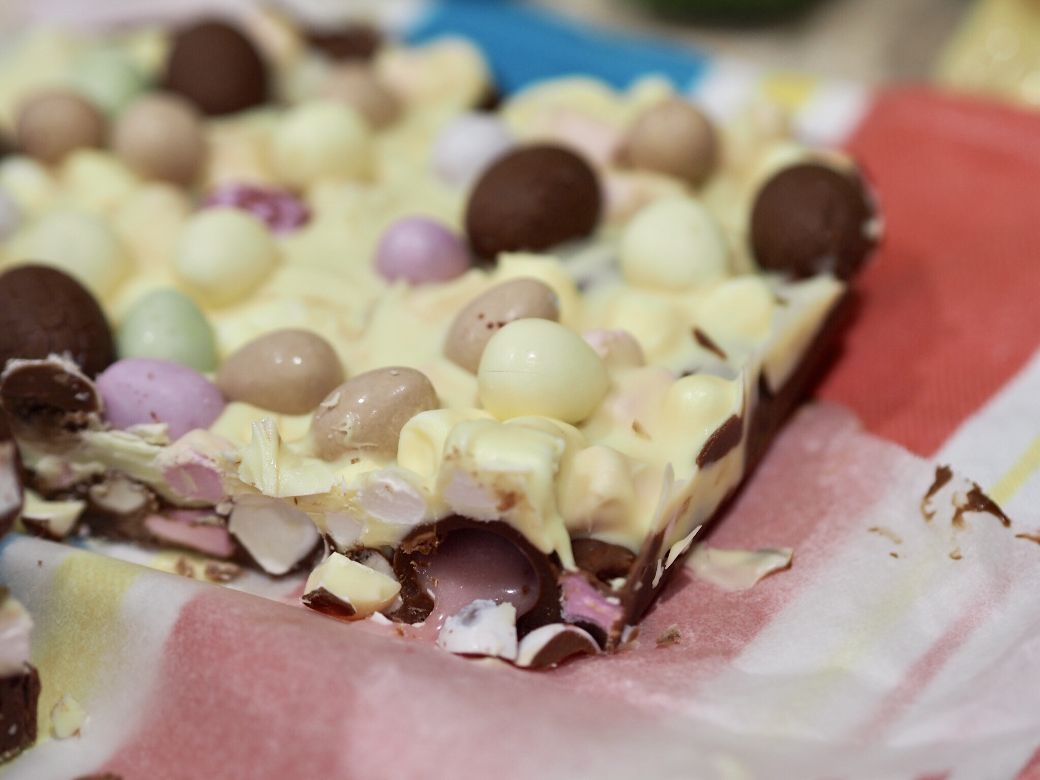 Two Layer Easter Rocky Road