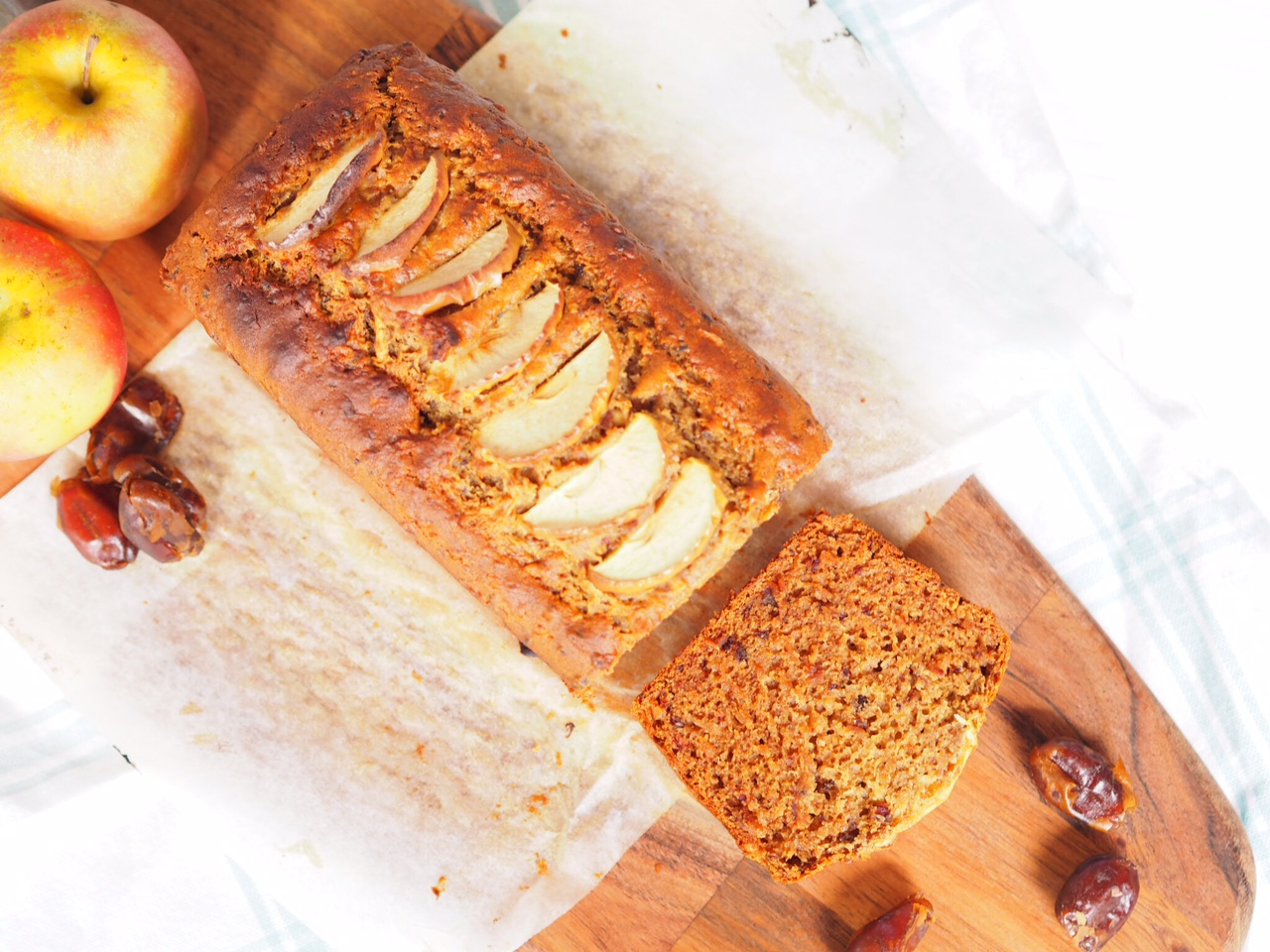 Date and Apple Loaf