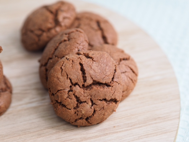Chocolate Crinkle Biscuits