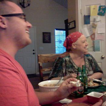 Cooking for Chemo Cancer Story Chef Ryan Callahan Mom