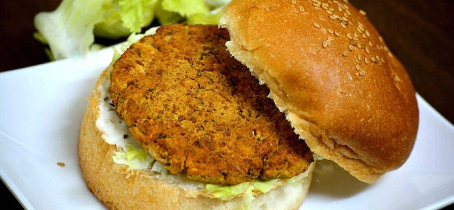 Baked Falafel Burgers