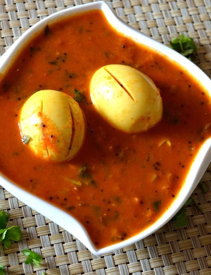 Muttai Kuzhambu/Egg Gravy