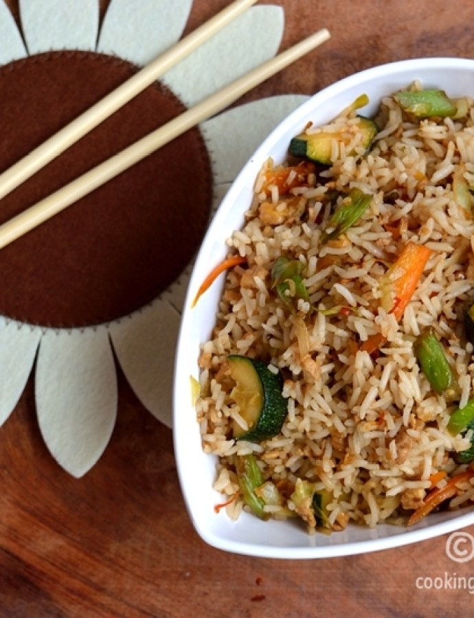 Veg/Egg Thai Fried Rice