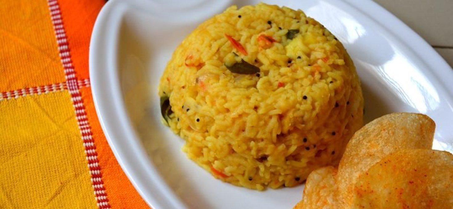 Arisi Paruppu Sadham | A Simple One Pot Meal