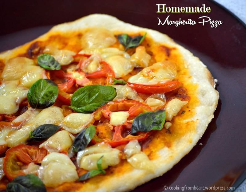 Homemade Margherita Pizza   Thin Crust Pizza