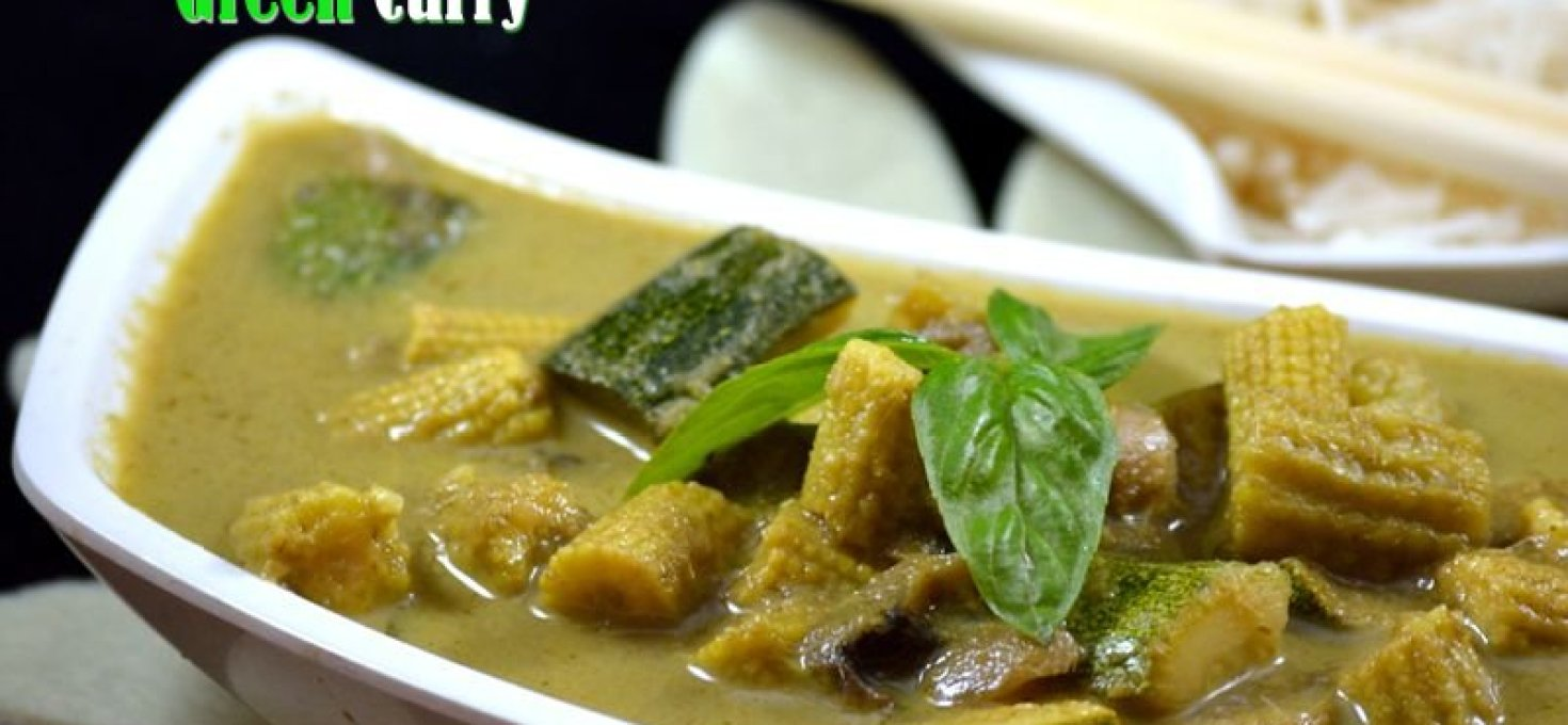 Thai Vegetable Green Curry