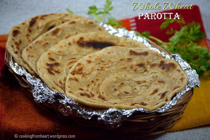 Whole Wheat Parotta | Coin Parotta | Barotta Recipe
