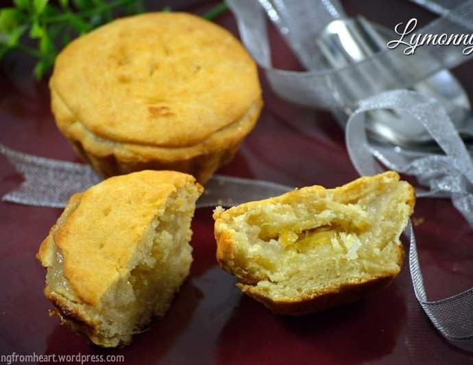 Lymonnyk | Russian Lemon Pie Recipe | Eggless Lemon Pie | Rare Recipes Challenge