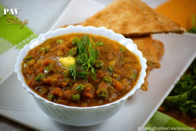 Pav Bhaji | Street Food Recipes