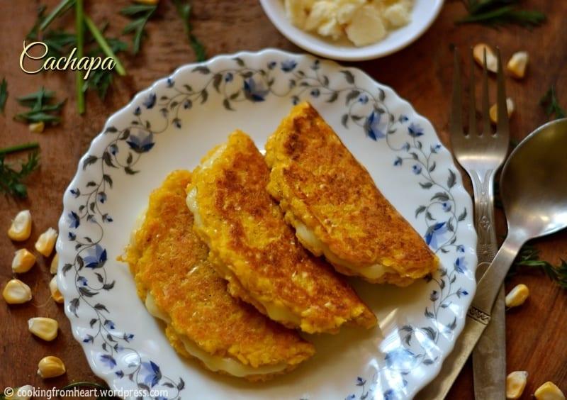 Cachapa | Corn Pancakes | Venezuela Corn Cakes
