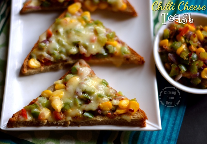 Chilli Cheese Toast 1