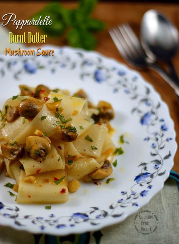 Pappardelle Burnt butter Mushroom Sauce 2.jpg