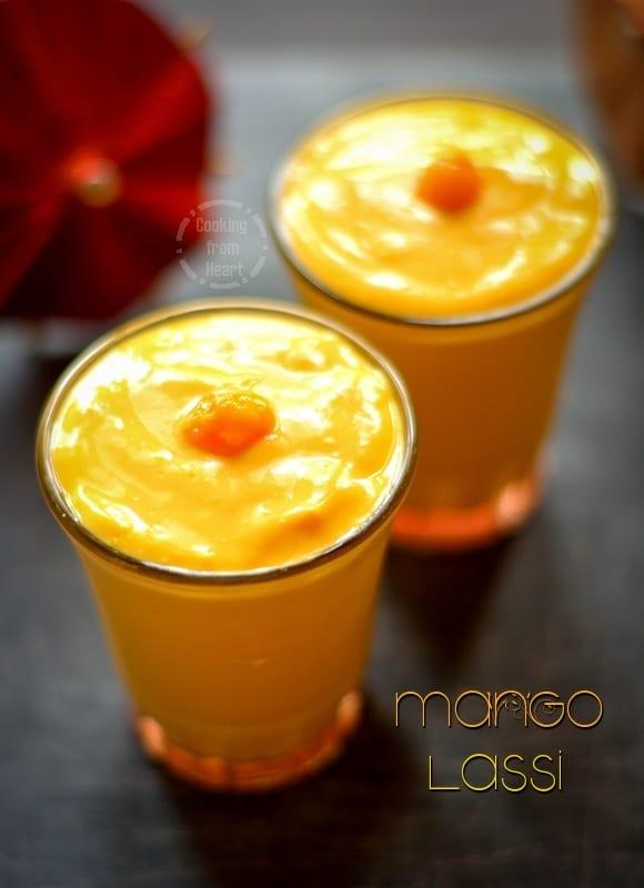 Mango Lassi 1