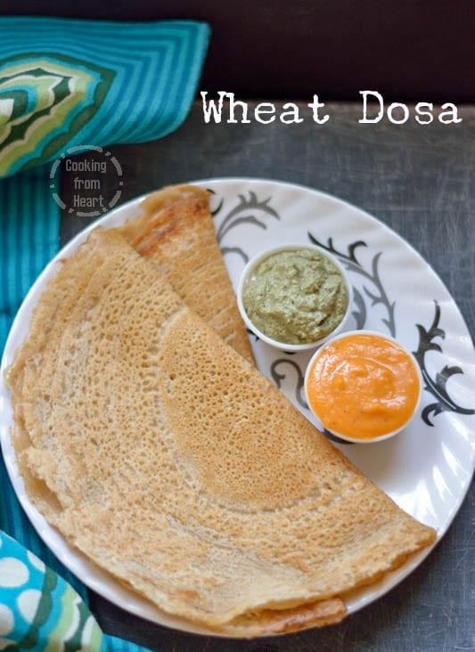 Wheat Dosa 4