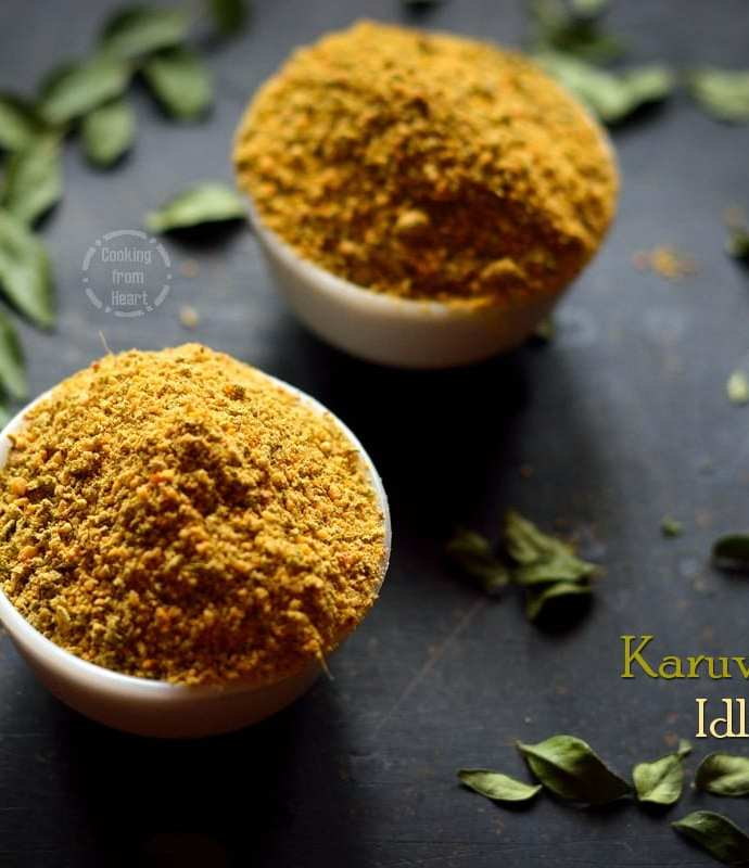 Karuveppillai Idli Podi | Curry Leaves Chutney Powder