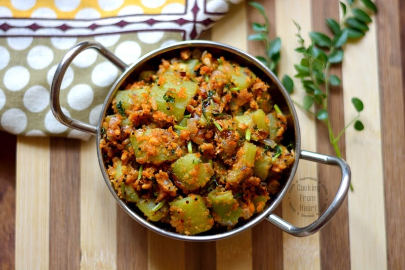 Beerakaya Koora | Andhra Style Ridge Gourd Stir Fry