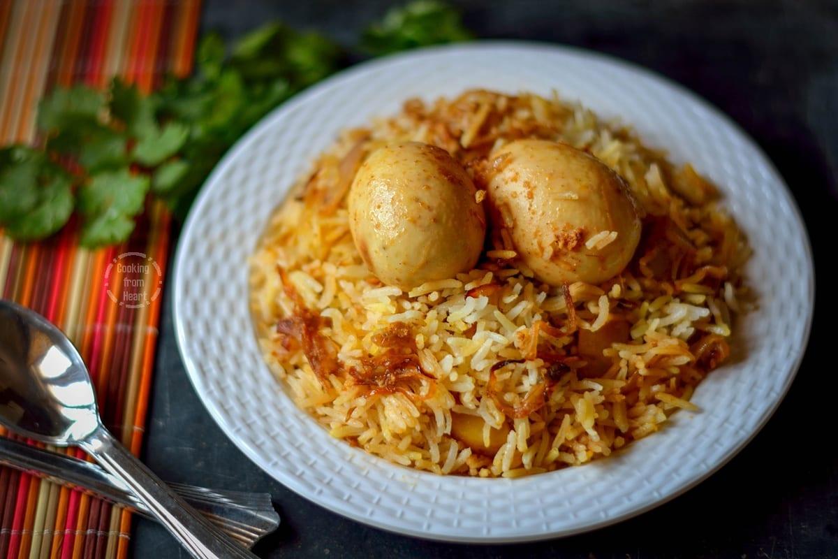 Kolkatta Egg Dum Biryani (5)