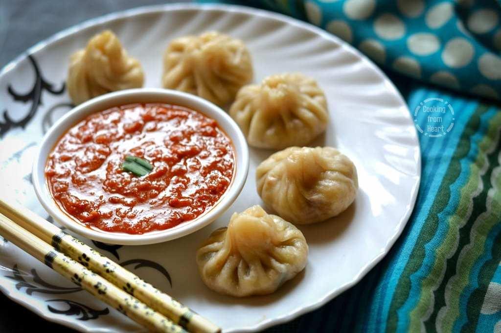 Vegetable Momos | Street Food Special Veg Momos