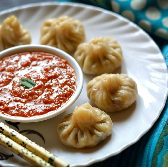 Vegetable Momos | Street Food Special Veg Momos