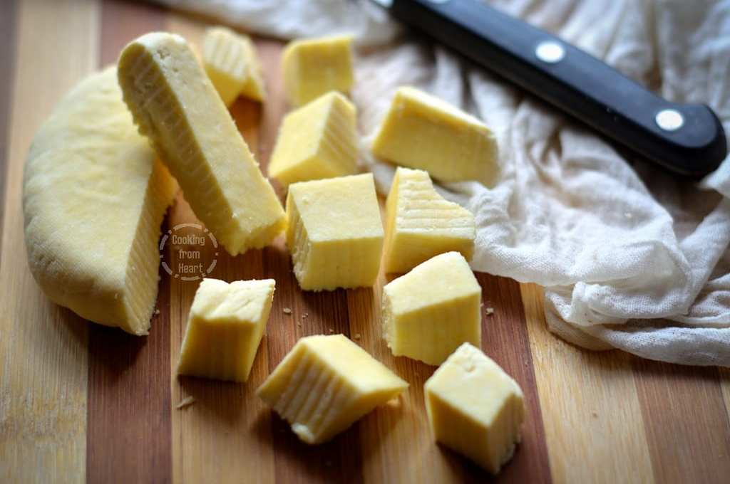 Homemade Paneer | Homemade Cottage Cheese