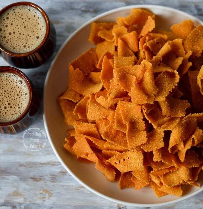 Corn Ribbon Pakoda | Diwali Special Recipes