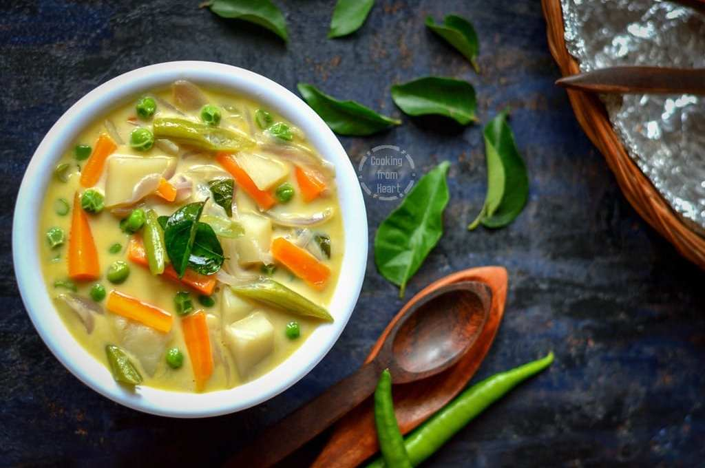 Vegetable Stew | Kerala Style Veg Stew