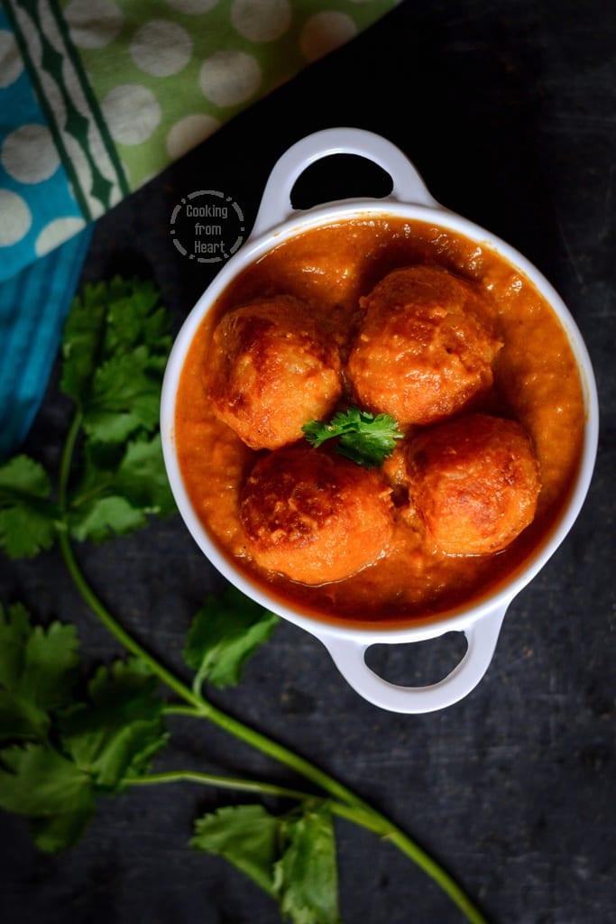 Malai Kofta Curry | Cooking From Heart